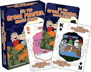 Charlie Brown It's the Great Pumpkin  52 playing cards + jokers (nm)